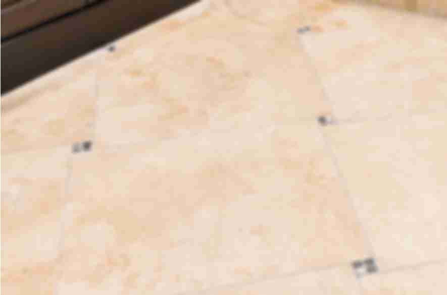 Bathroom wall and floor tiles.