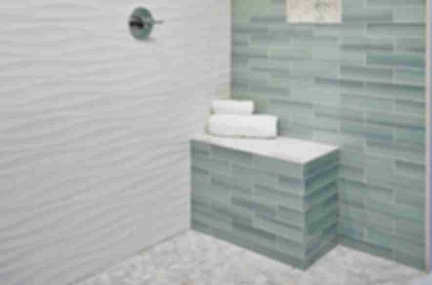 bathroom wall tiles.