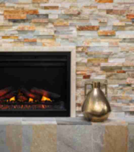 Phenomenal Fireplace Wall Surround Tile The Tile Shop Home Interior And Landscaping Ferensignezvosmurscom
