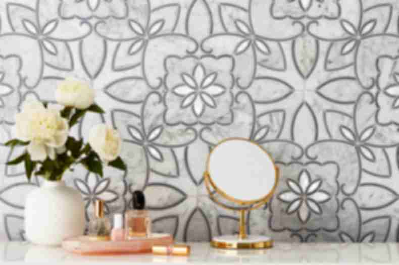 mosaic marble wall tile pattern.