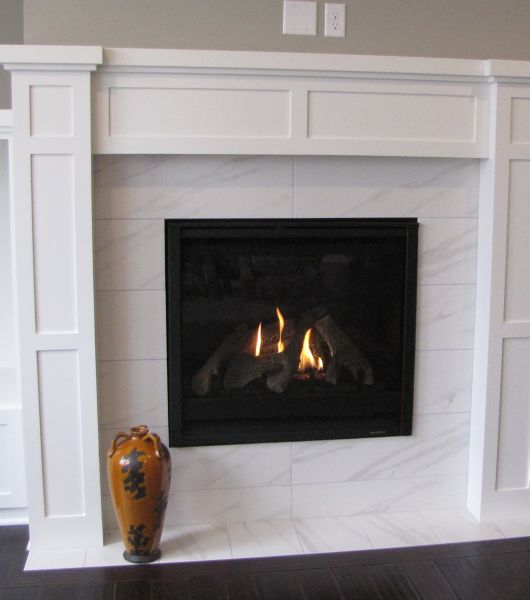 Tile Hearth: Fireplace Wall Surround Tile