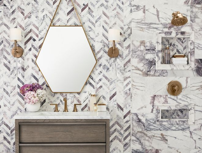 Swell Milas Lilac Tile The Tile Shop Interior Design Ideas Inesswwsoteloinfo