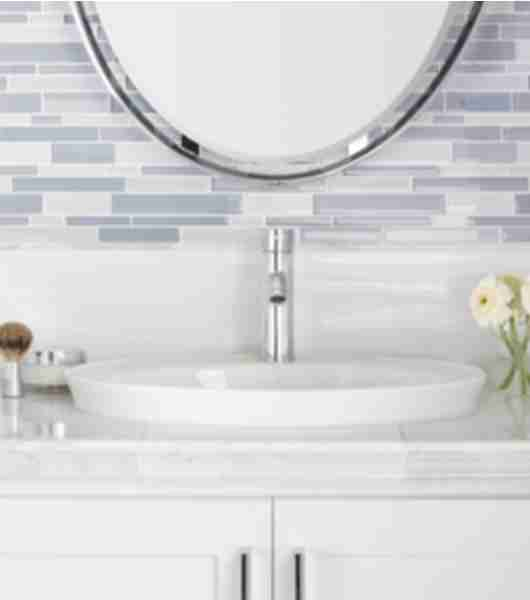 glass tile bathroom tiles.