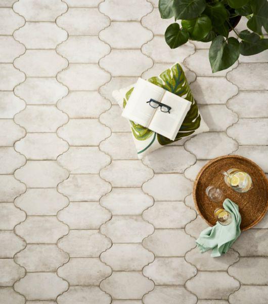 Provenzal Alhama Grey Tile Outdoor Patio