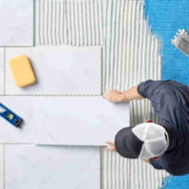 how to lay tile installation