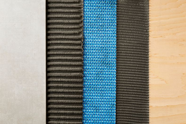 Multi Colored Materials Close Up