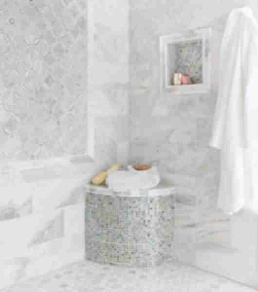 marble mosaic bathroom tile