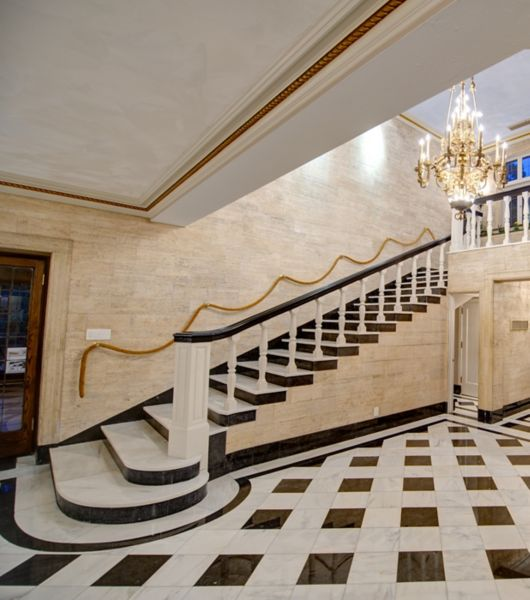 Grand Marble Entryway