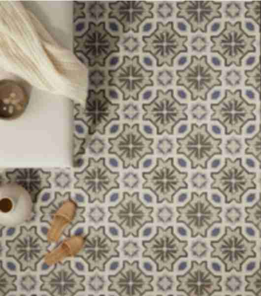 ceramic pattern floor tile