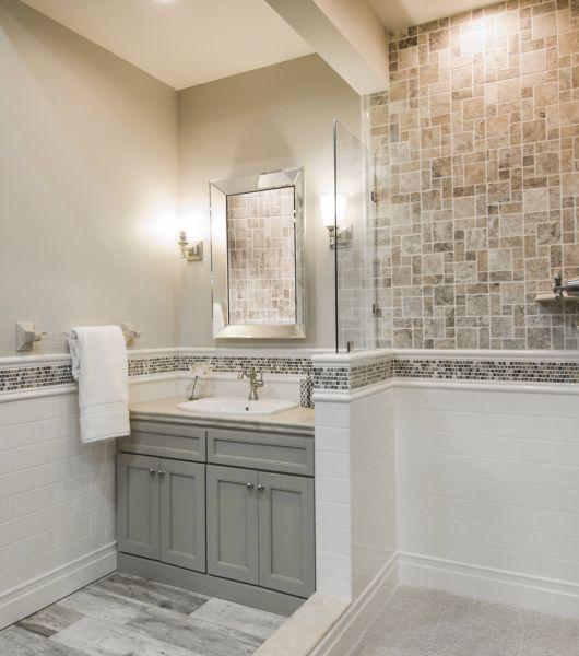 Bathroom Tile Looks Like Wood: Wood-Look Tile Flooring
