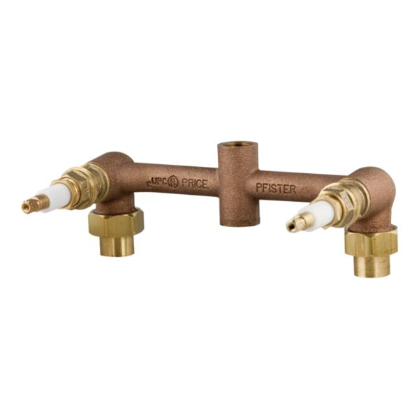 Primary Product Image for Pfister 2-Handle Tub & Shower Rough-In Valve