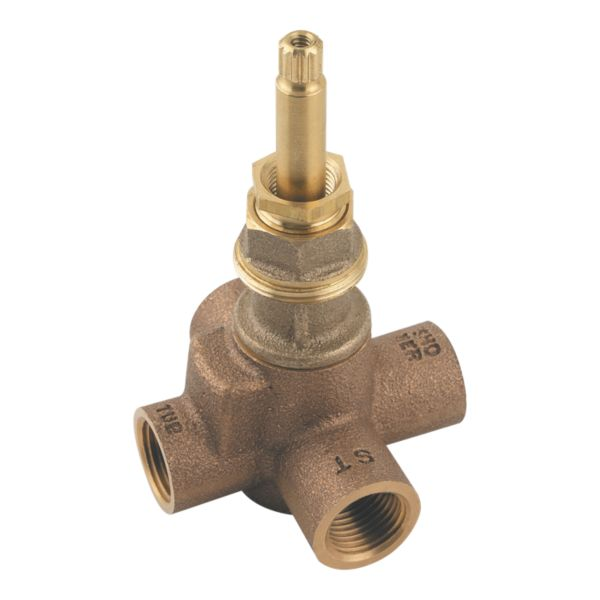 Primary Product Image for Pfister 4-Port 2-Way Diverter Valve