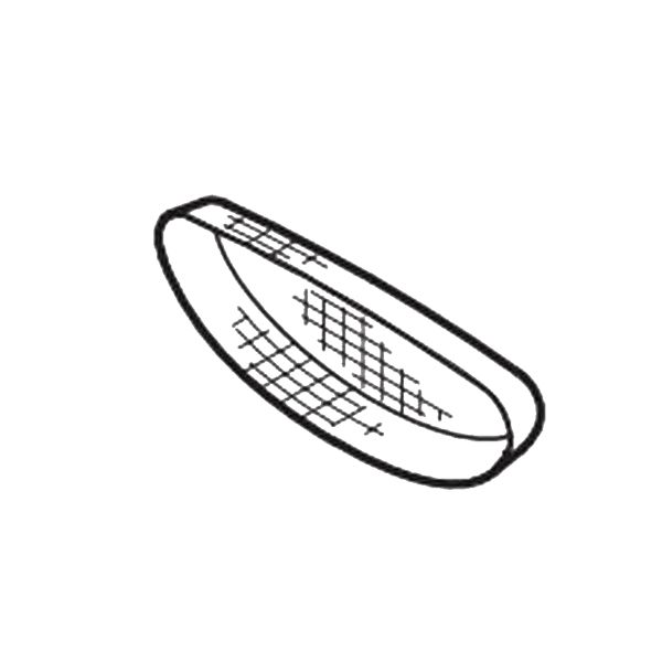 Primary Product Image for Genuine Replacement Part Trough Screen for 42/49 Series Ashfield