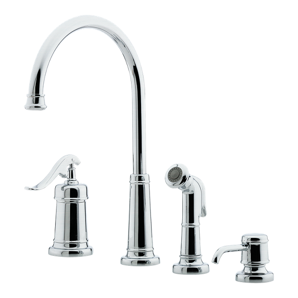 Primary Product Image for Ashfield 1-Handle Kitchen Faucet