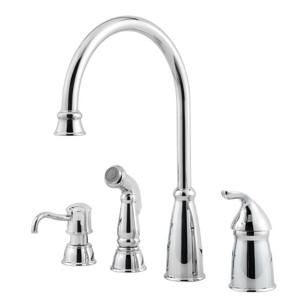 Miraculous Avalon Kitchen Faucet Collection Pfister Faucets Home Interior And Landscaping Oversignezvosmurscom
