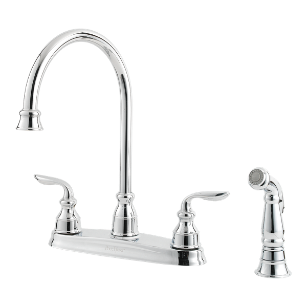 Cool Polished Chrome Avalon F 036 4Cbc 2 Handle Kitchen Faucet Download Free Architecture Designs Scobabritishbridgeorg