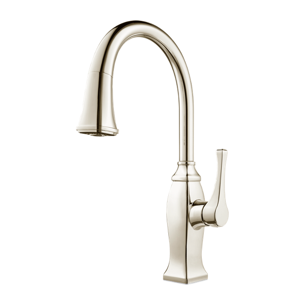 Pull Out Kitchen Faucets | Briarsfield Gt529 Bfd 1 Handle Pull Down Kitchen Faucet