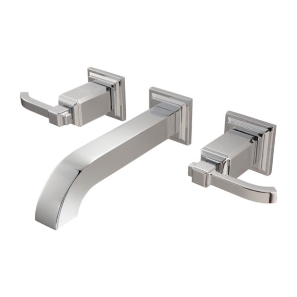 Primary Product Image for Carnegie 2-Handle Wall Mount Bathroom Faucet