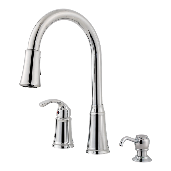 Primary Product Image for Classic 1-Handle Pull-Down Kitchen Faucet