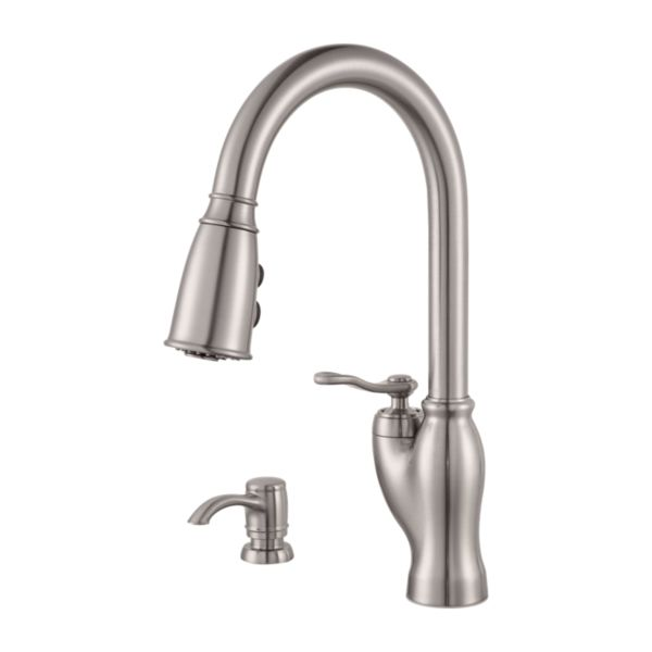 Primary Product Image for Glenfield 1-Handle Pull-Down Kitchen Faucet