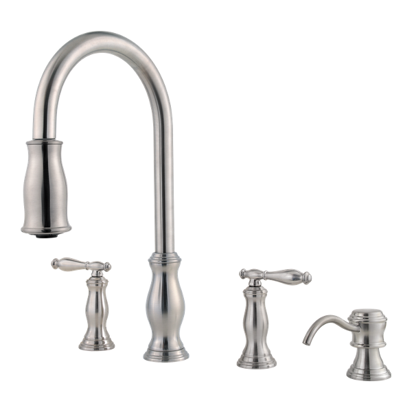 Primary Product Image for Hanover 2-Handle Pull-Down Kitchen Faucet