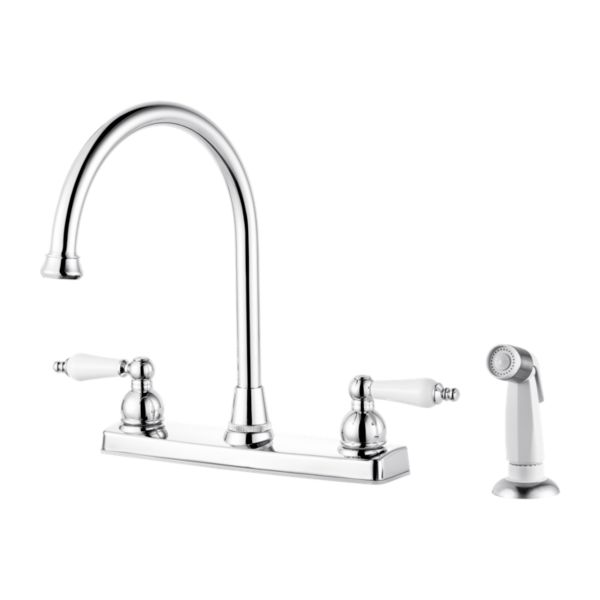 Primary Product Image for Henlow 2-Handle Kitchen Faucet