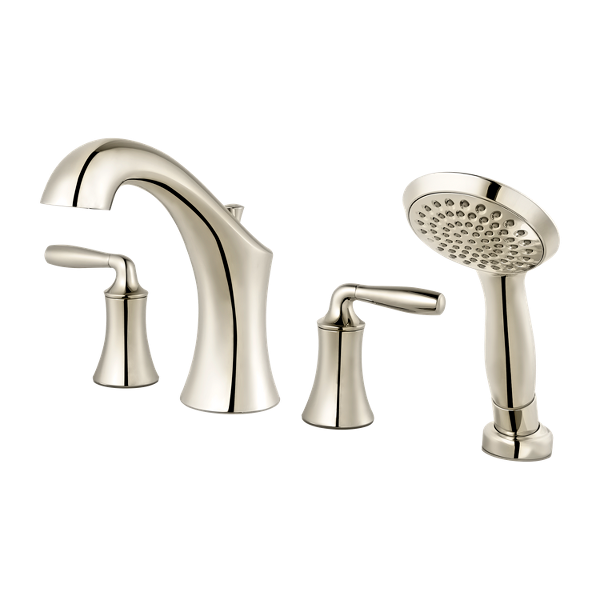 Primary Product Image for Iyla 2-Handle Complete Roman Tub Trim with Hand Held Shower