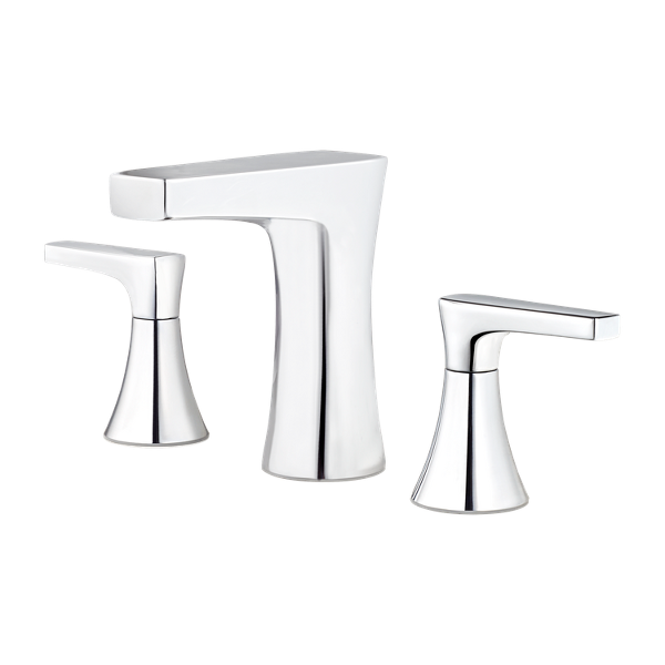 """Primary Product Image for Kelen 2-Handle 8"""" Widespread Bathroom Faucet"""
