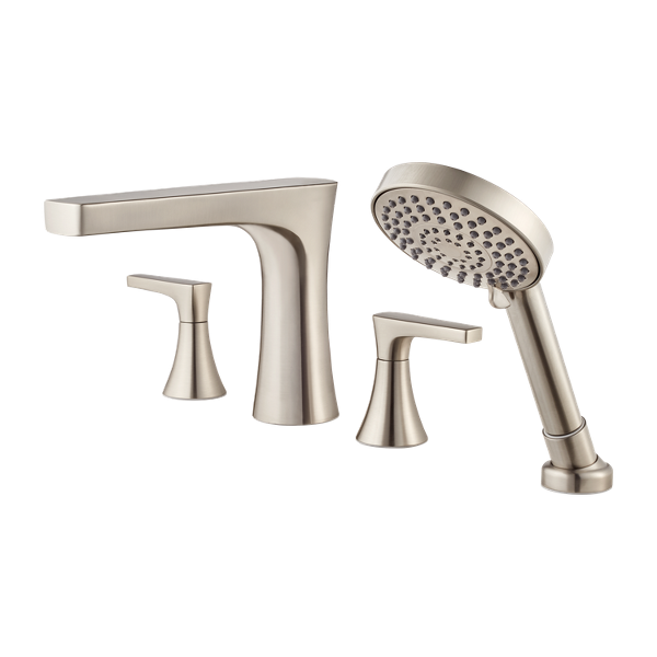 Primary Product Image for Kelen 2-Handle Complete Roman Tub Trim with Hand Held Shower