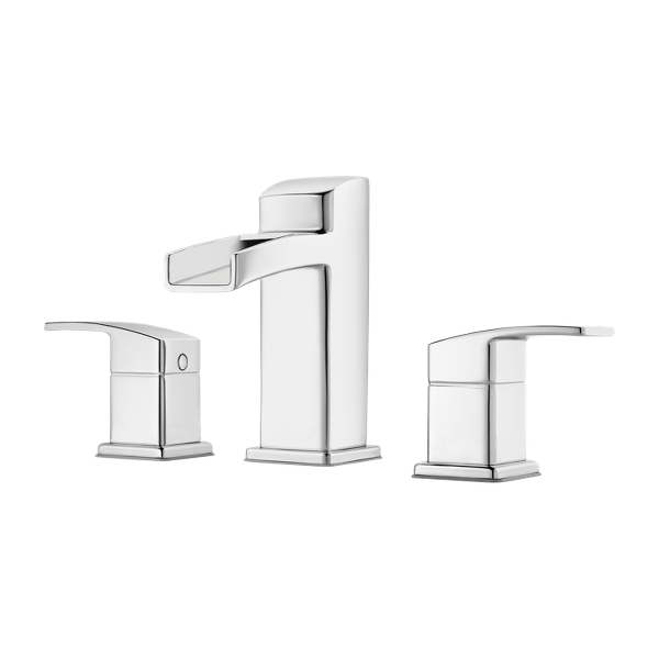 """Primary Product Image for Kenzo 2-Handle 8"""" Widespread Bathroom Faucet"""