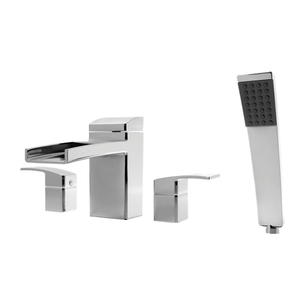 Primary Product Image for Kenzo 2-Handle Complete Roman Tub Trim with Hand Held Shower