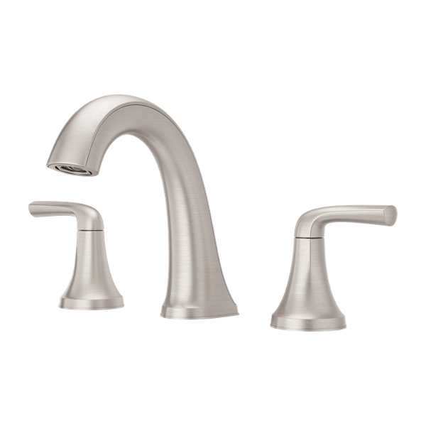 """Primary Product Image for Ladera 2-Handle 8"""" Widespread Bathroom Faucet"""