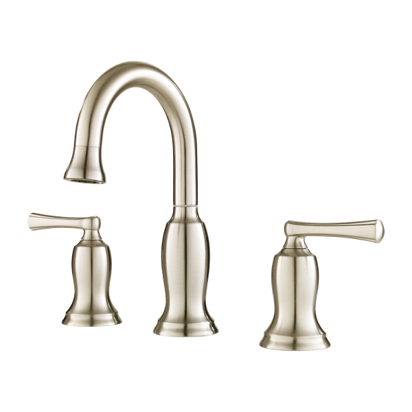 """Primary Product Image for Lindosa 2-Handle 8"""" Widespread Bathroom Faucet"""