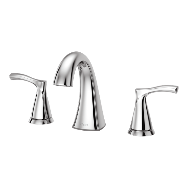 """Primary Product Image for Masey 2-Handle 8"""" Widespread Bathroom Faucet"""