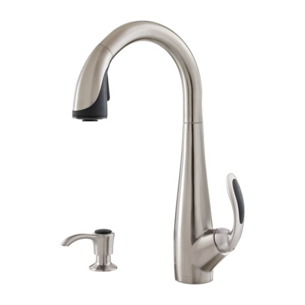 Primary Product Image for Nia 1-Handle Pull-Down Kitchen Faucet