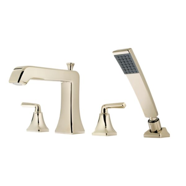 Primary Product Image for Park Avenue 2-Handle Complete Roman Tub Trim with Hand Held Shower