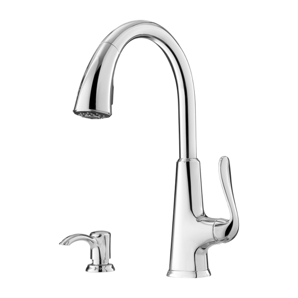 Primary Product Image for Pasadena 1-Handle Pull-Down Kitchen Faucet