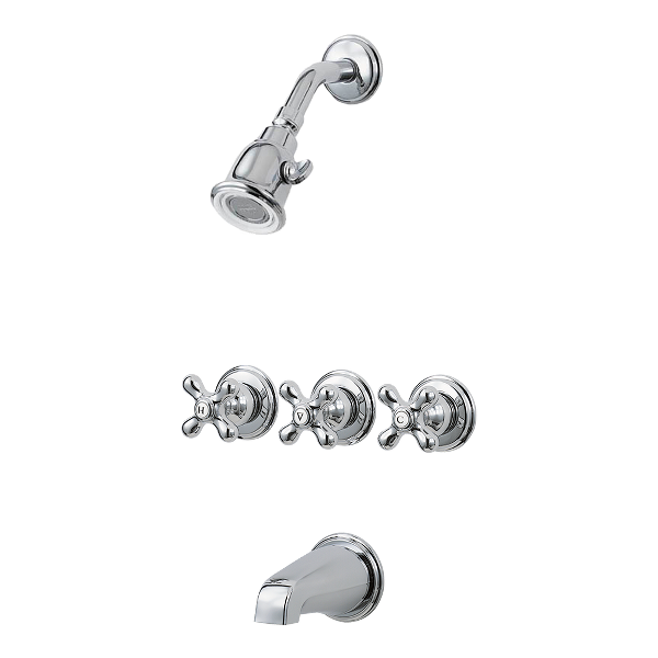 Primary Product Image for Avalon 3-Handle Tub & Shower Faucet