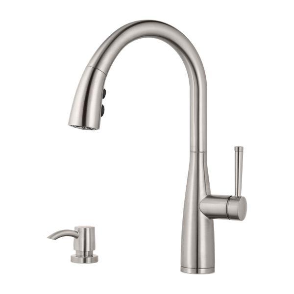 Moen Nori Kitchen Faucet: Raya Kitchen Faucet Collection
