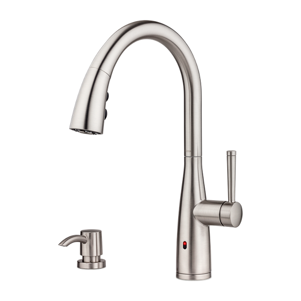 Primary Product Image for Raya 1-Handle Electronic Pull-Down Kitchen Faucet