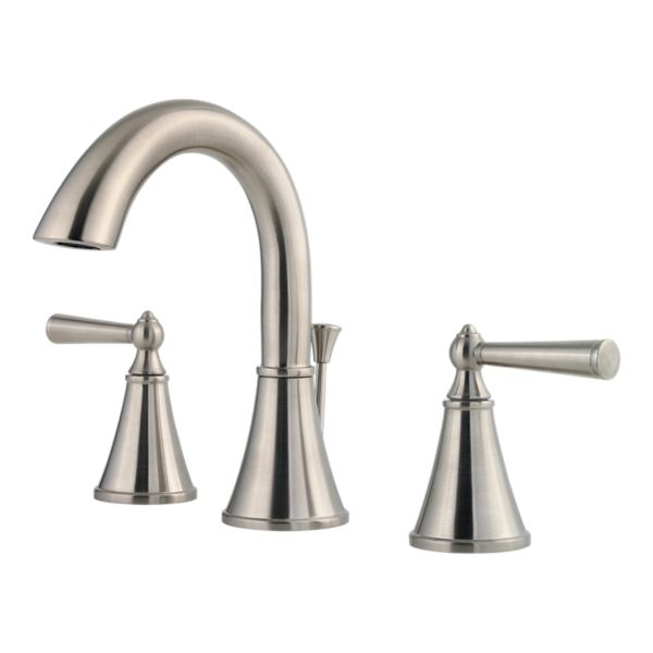 "Primary Product Image for Saxton 2-Handle 8"" Widespread Bathroom Faucet"