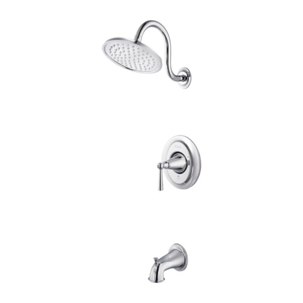 Primary Product Image for Saxton 1-Handle Tub & Shower Trim
