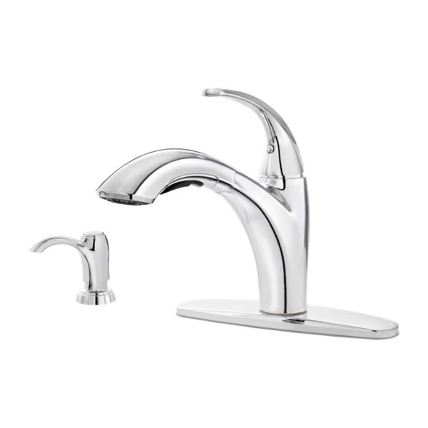Primary Product Image for Selia 1-Handle Pull-Out Kitchen Faucet