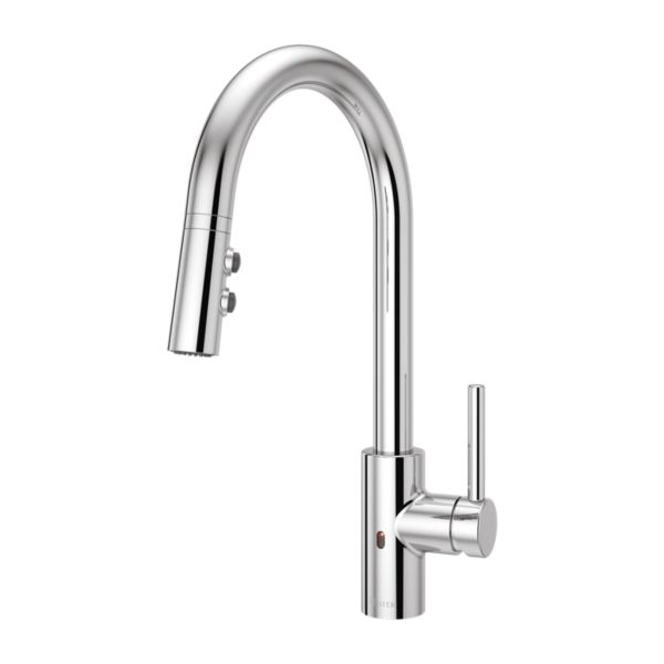 Primary Product Image for Stellen 1-Handle Electronic Pull-Down Kitchen Faucet
