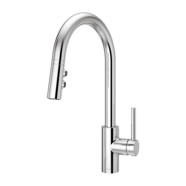 Polished Chrome Stellen Lg529 Sac 1 Handle Pull Down Kitchen Faucet