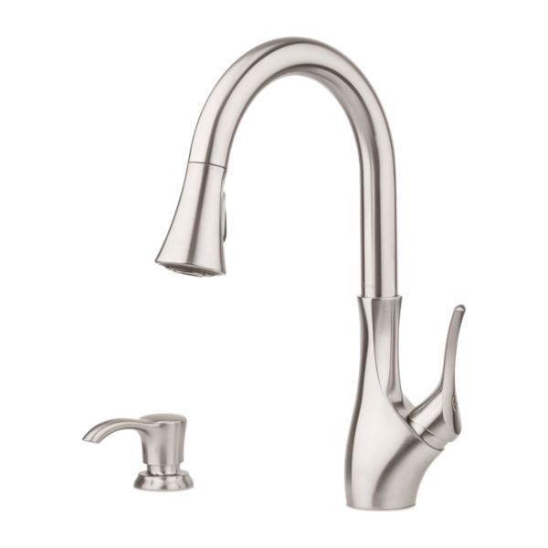 Primary Product Image for Tegley 1-Handle Pull-Down Kitchen Faucet