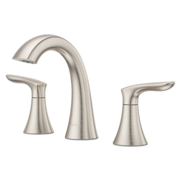 "Primary Product Image for Weller 2-Handle 8"" Widespread Bathroom Faucet"