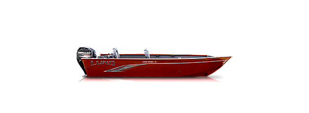 1650 Rebel XL Tiller - Heritage Red