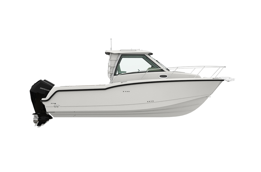 285 Conquest Pilothouse