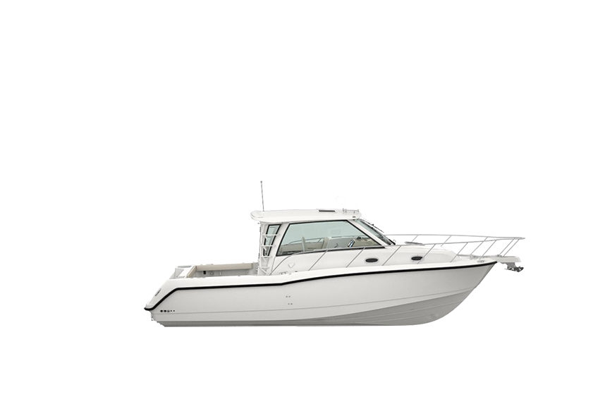 345 Conquest Pilothouse